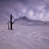 Early Morning MtHood Climb, USA - Oregon
