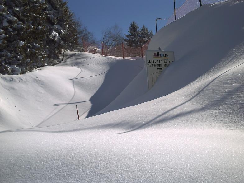 Le Collet d'Allevard snow