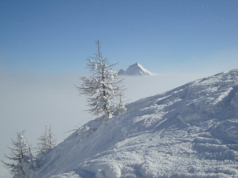 Bosco Gurin snow