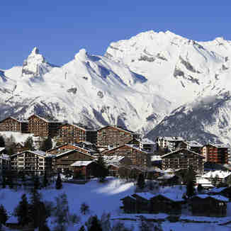 View of Nendaz resort