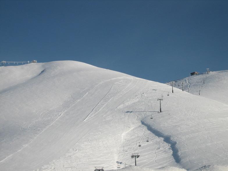 red pist falakro, Falakro Ski Resort