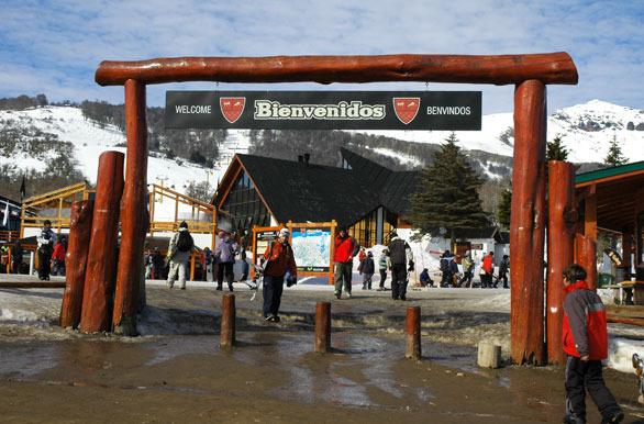Portal de Ingreso a Chapelco Ski & Resort