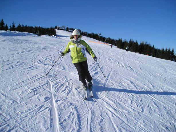 Attractive skier - Skipark Ruzomberok Slovakia, Ružomberok - Malino Brdo