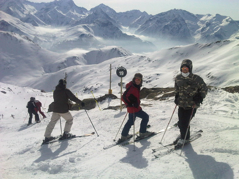 Josh and Lewis on the Serene,, Alpe d'Huez