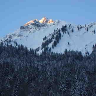 View from La Ville Du Nant - Chatel