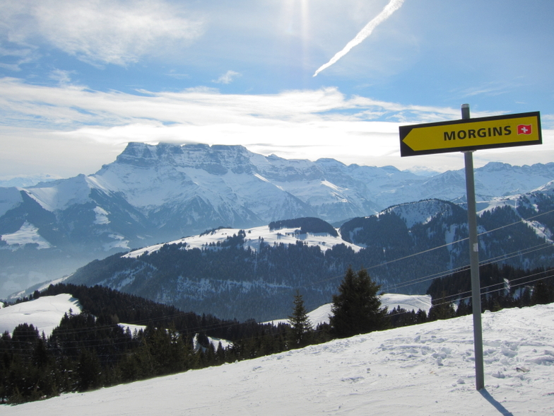 View from Chalet Neuf, Chatel