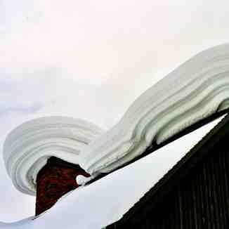 Snow Mushroom, Niseko, Hokkaido, Japan, Niseko Grand Hirafu