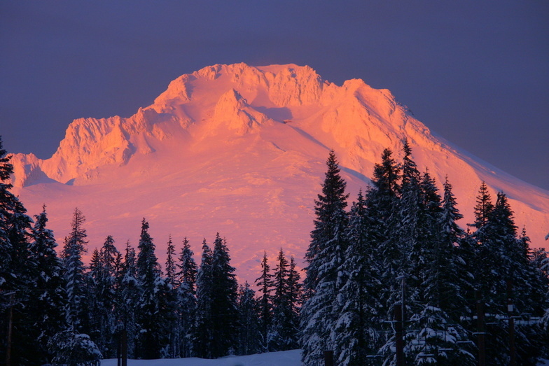 Mt.Hood sunset, Timberline