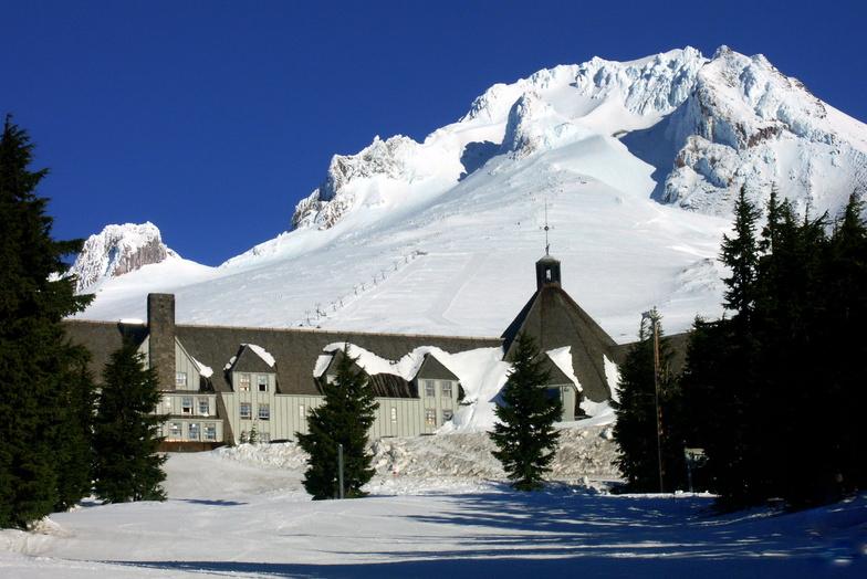 Beautiful Timberline Lodge