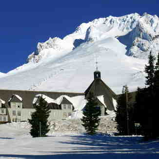 Beautiful Timberline Lodge