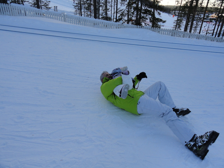 lapland with the kids, you have to love it, Levi