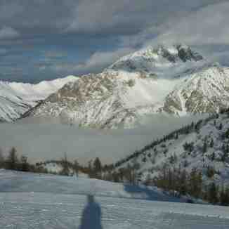 View from top lift, Claviere (Via Lattea)