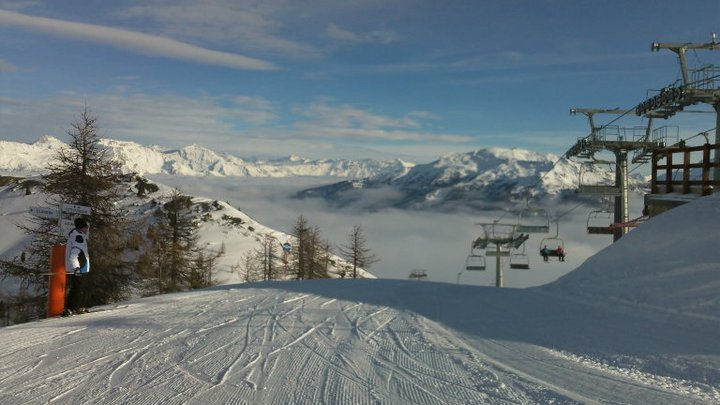 Amazing view from top lift station, Claviere (Via Lattea)