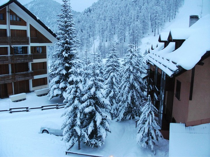 View from hotel, Claviere (Via Lattea)