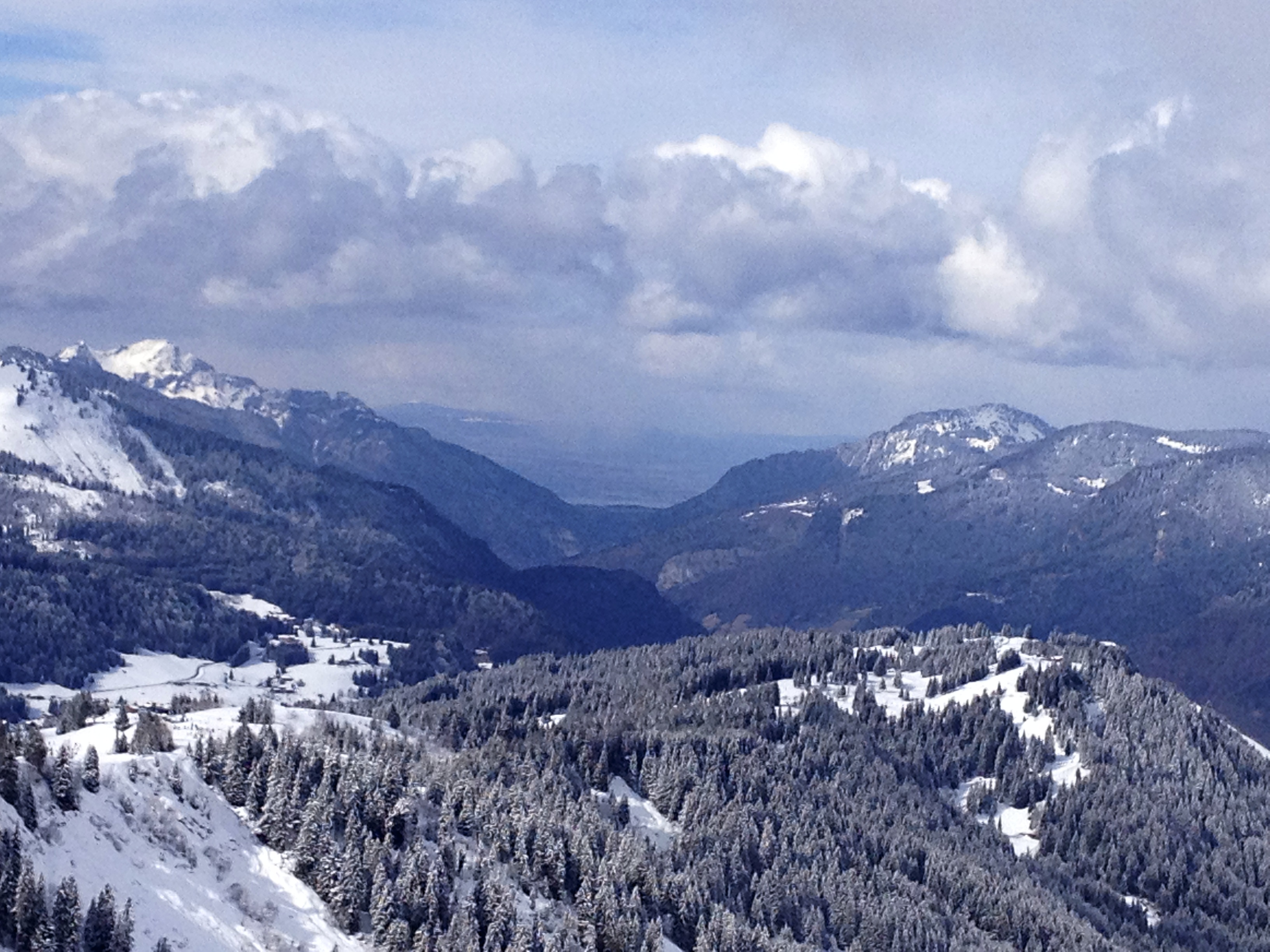 Now that's a view, Morzine