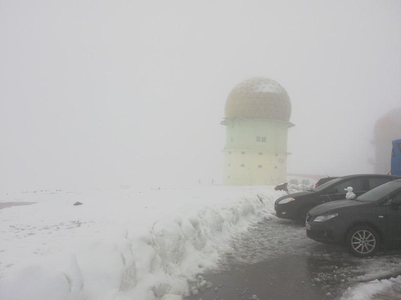 Boa quantidade de neve., Serra da Estrela