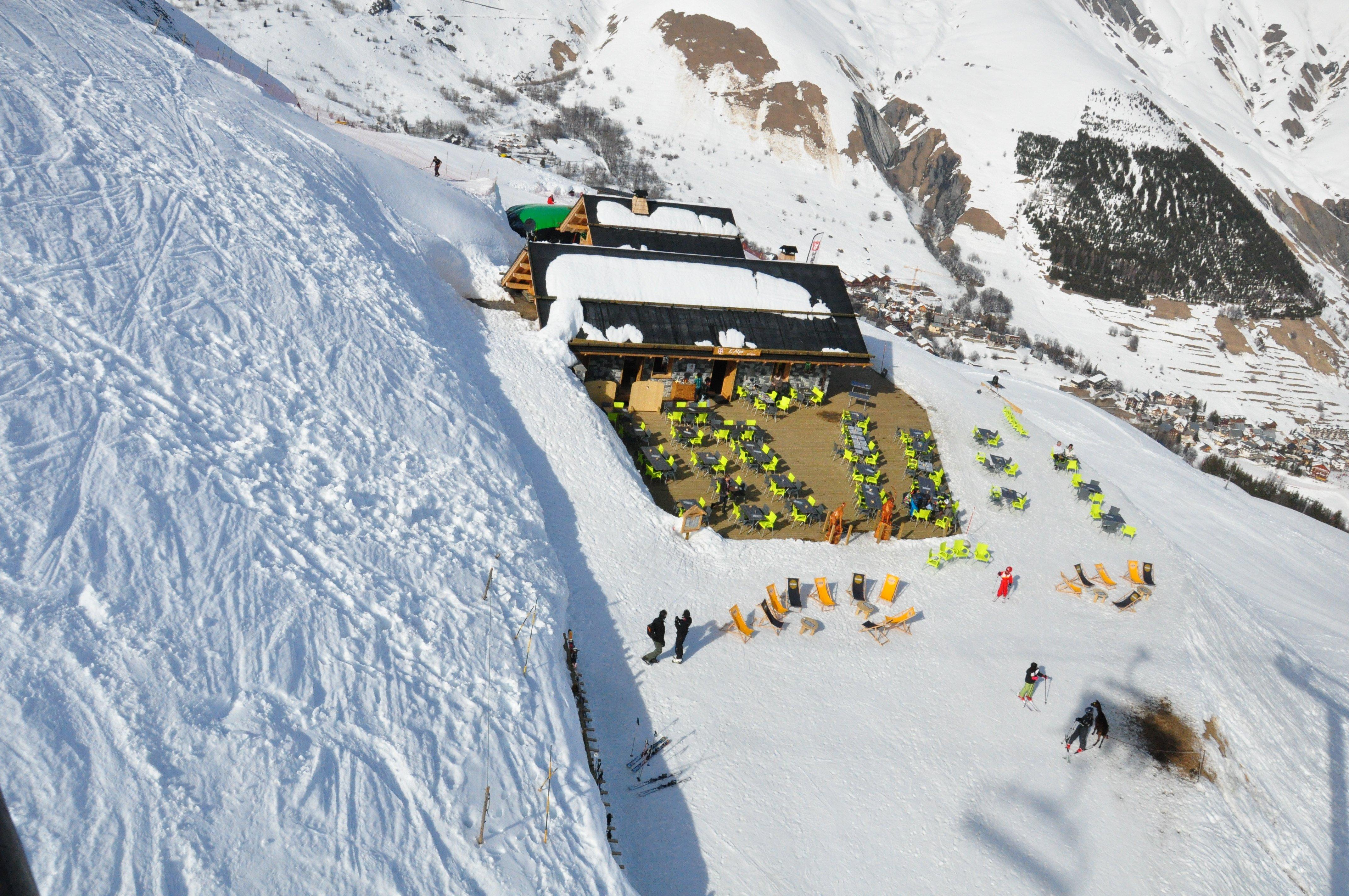 restaurant l'Alpe, Saint-Sorlin d'Arves (Les Sybelles)