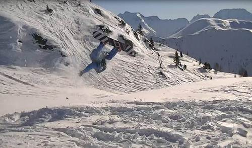 Oz en Oisans Ski Resort by: Richard Wilkinson