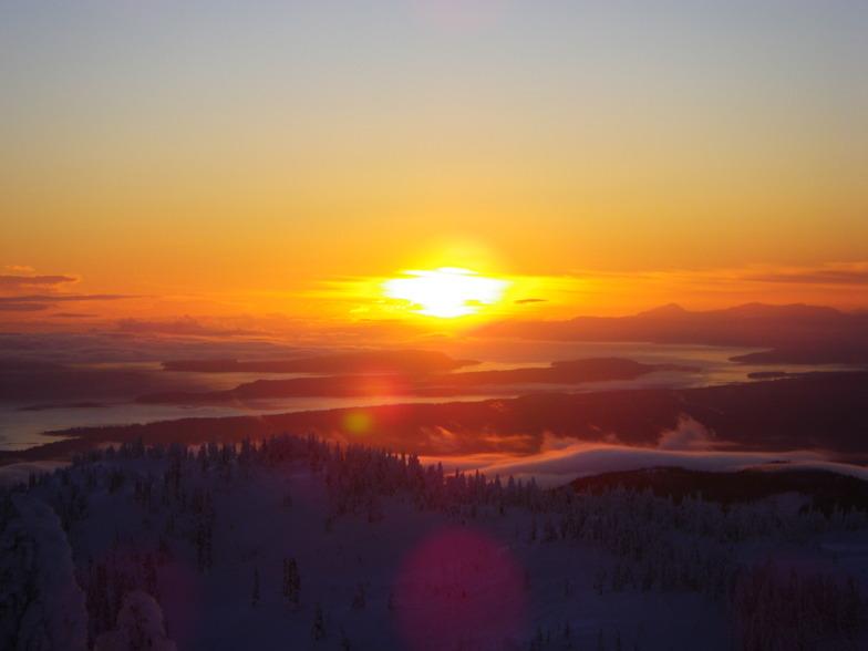 mt. washington sunrise, Mount Washington