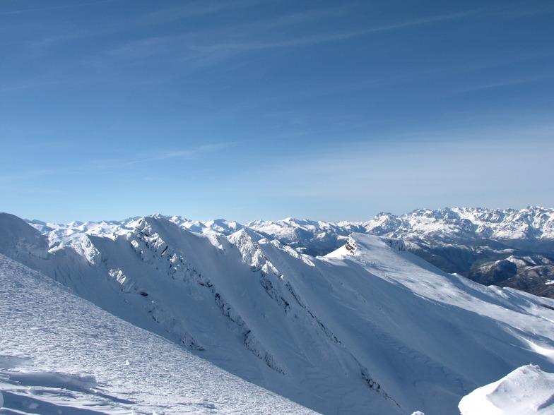 Alto Campoo snow