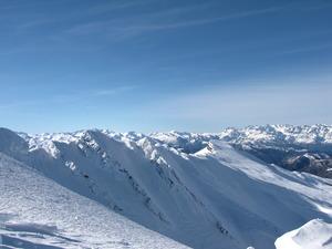 Picos de Europa desde Alto Campoo photo
