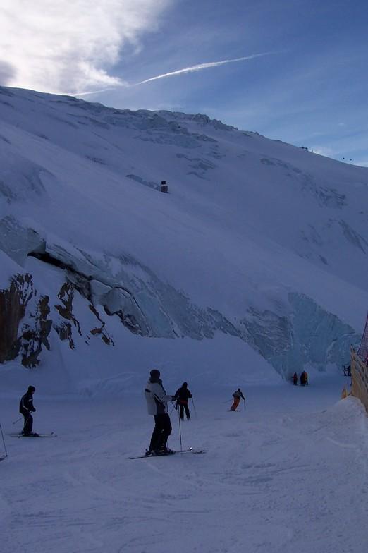 a mountain of ice, solden, Sölden