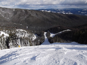 What a quiet black run !, SilverStar photo