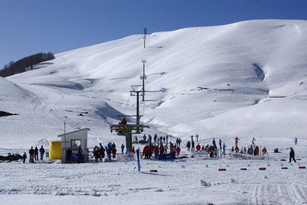 Metsovo Ski Resort snow