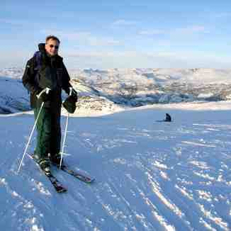 Chris in Hemsedal, Norway