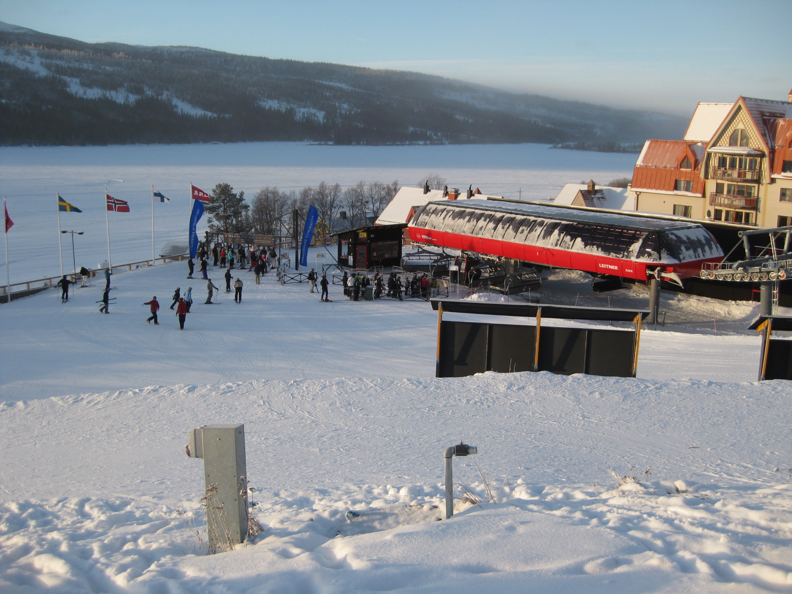 Kanon dag i Åre
