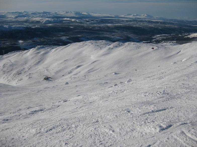 Tusenmeter off piste, Åre