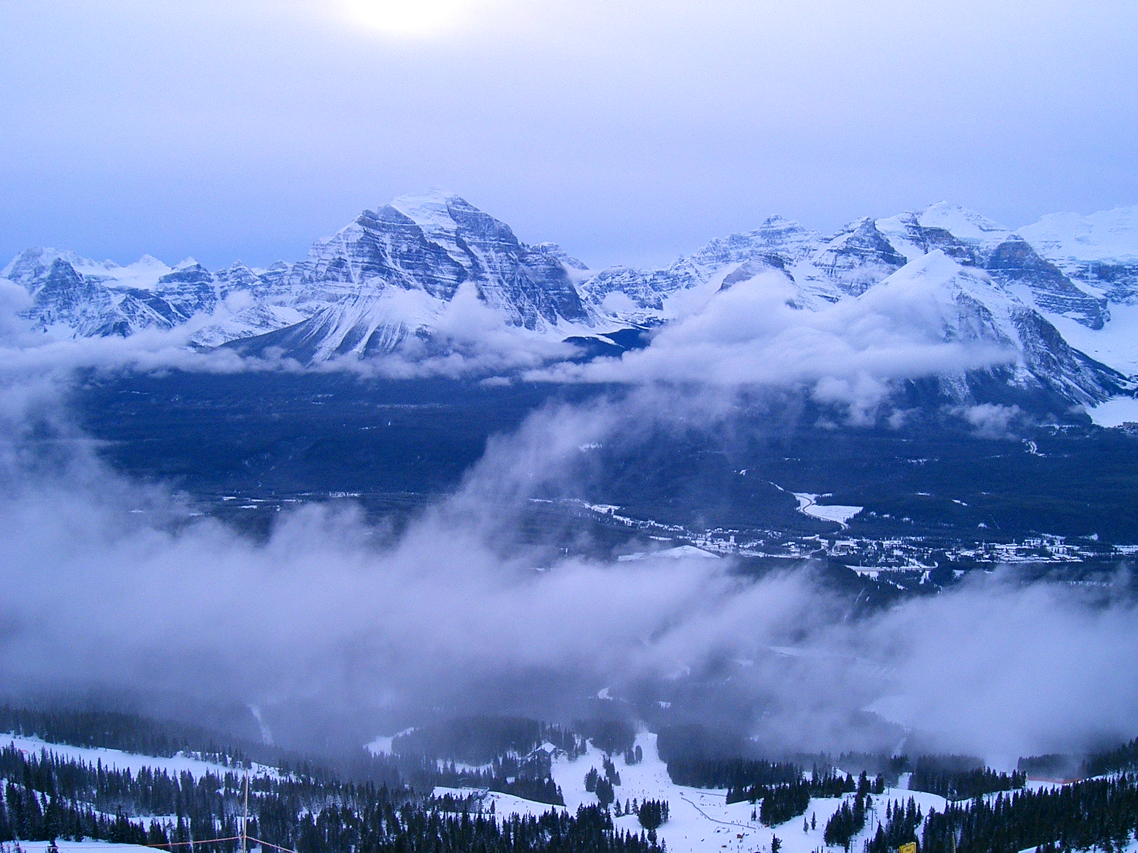 A Typical Louise Day, Lake Louise