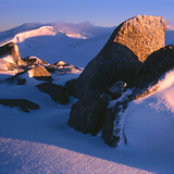 Dawn on the Kosciusko Main Range, Snowy Mountains, Australia, Australia - New South Wales
