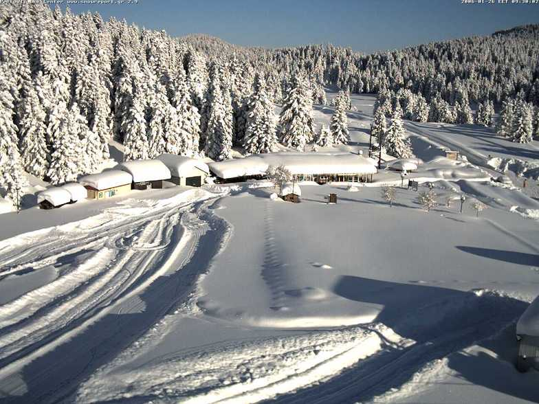 Pertouli - Greece, Pertouli Ski Center