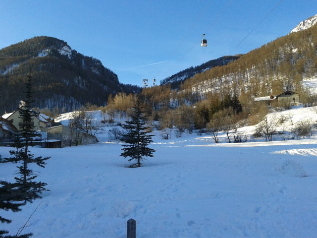 Early Morning, Serre Chevalier