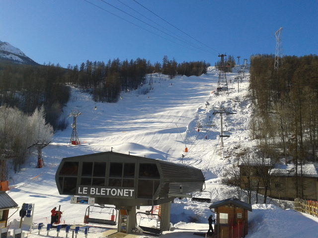 Black Run, Serre Chevalier