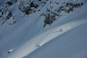 July powder, Puma Lodge - Chilean Heliski photo