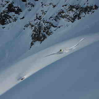 July powder, Puma Lodge - Chilean Heliski