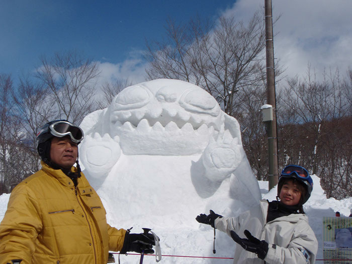 Snow carvings, Hakuba Goryu
