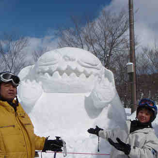 Snow carvings, Hakuba Goryu