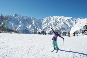Typical day in Hakuba, Hakuba Goryu photo