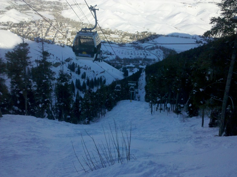 View of Ketchum from Sleeping Bear, Sun Valley