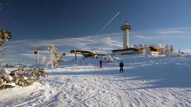 Skigebiet Willingen - Bergstation Ettelsberg-Seilbahn, Willingen-Upland