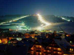 Flutlicht Skigebiet Willingen, Willingen-Upland photo