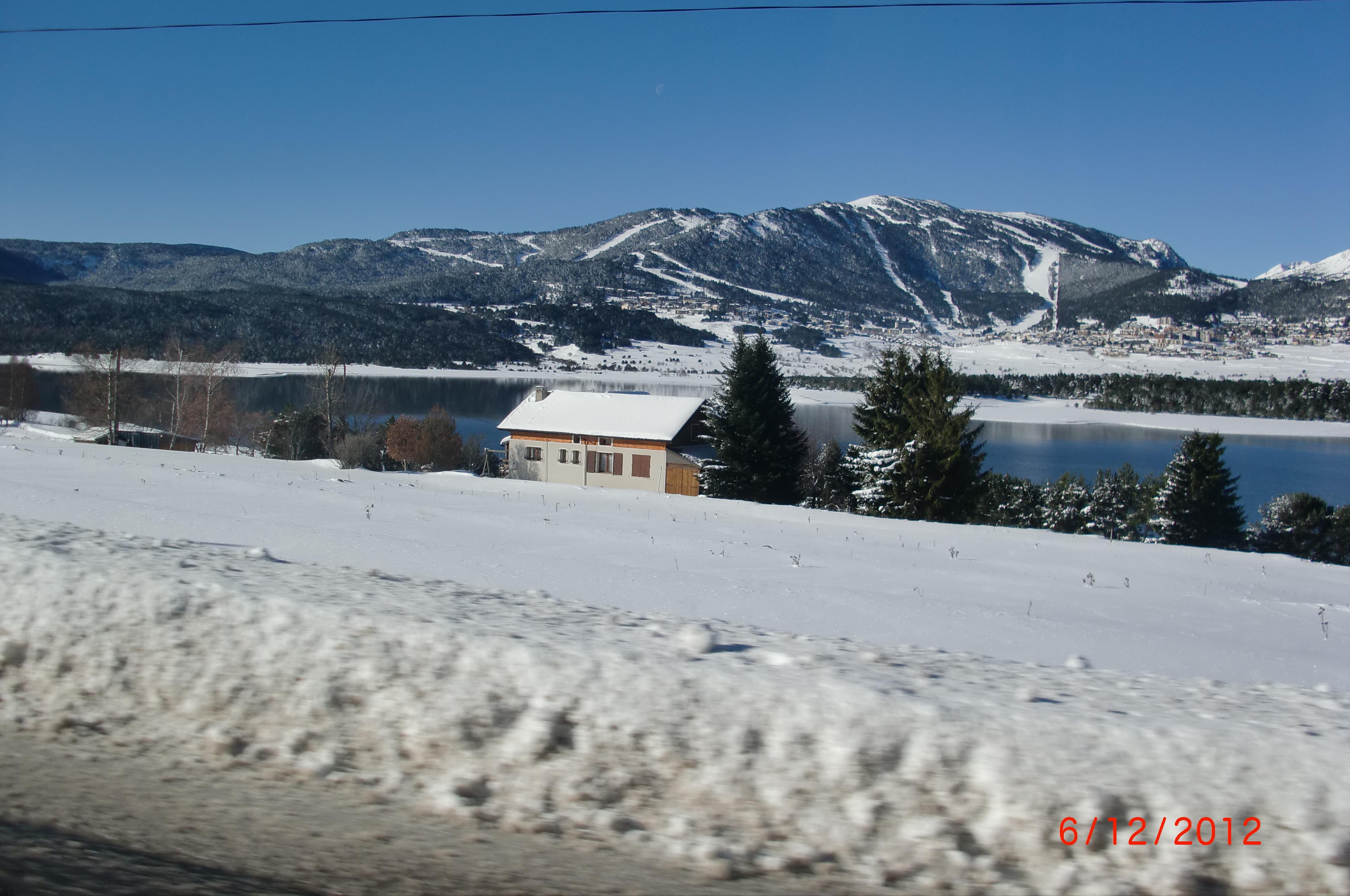 Lake Matemale and Les angles behind