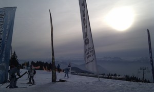 Afternoon Banners, Chamrousse photo