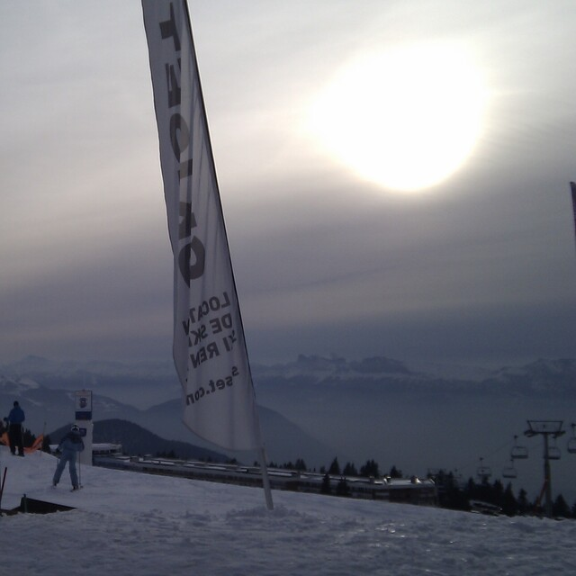 Afternoon Banners, Chamrousse