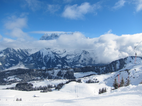 Champoussin Ski Resort by: Andrew Marshall
