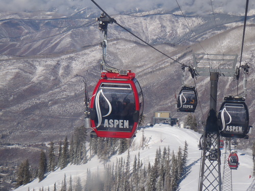 Aspen Ski Resort by: Mark White