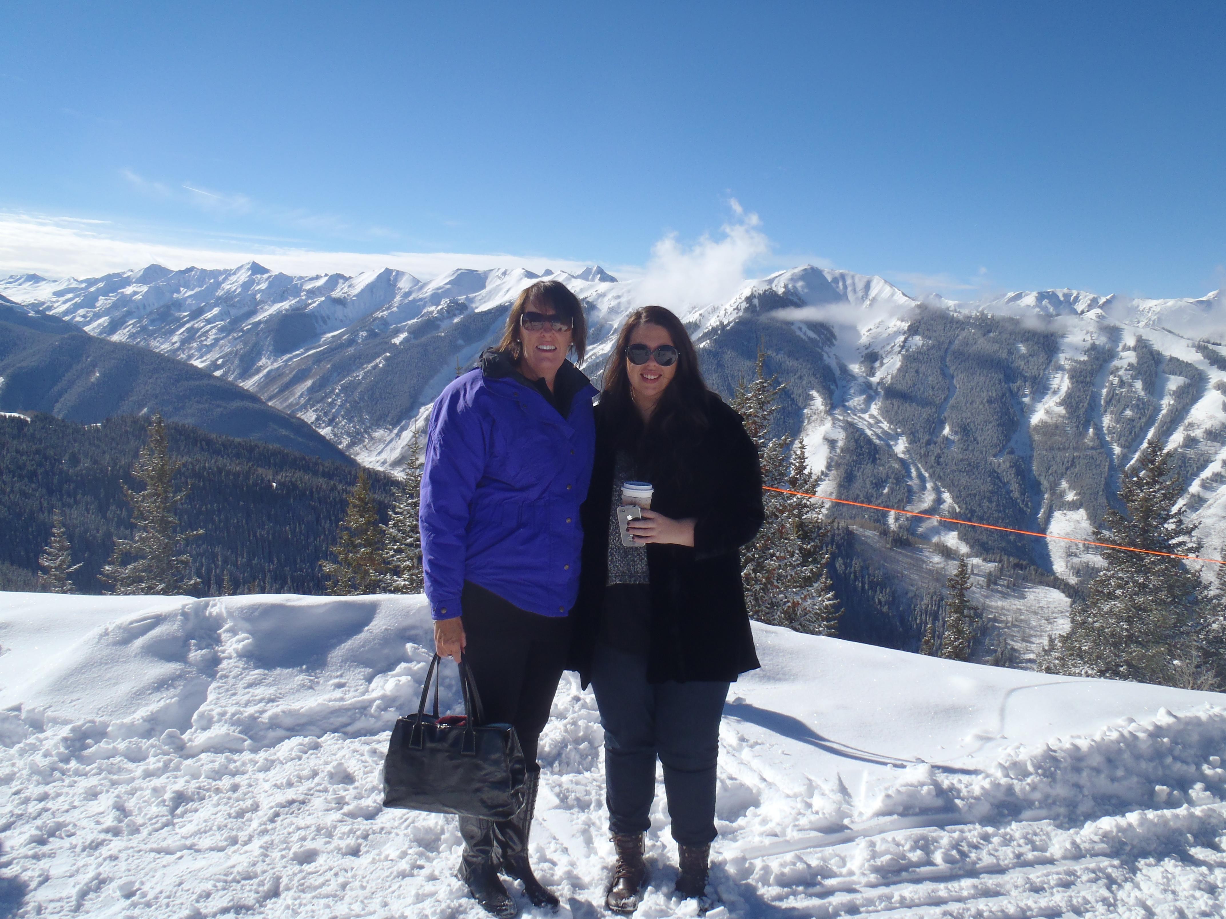 check the view, Aspen